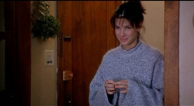 While You Were Sleeping Sandra Bullock sweater